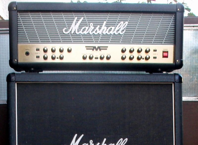 Marshall Mode Four MF Amplifier head and cabinet 160000 HUF eladó ...