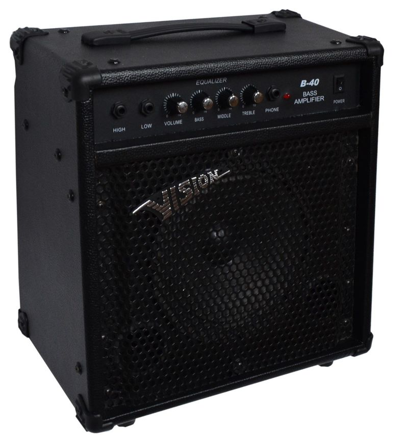 vision b40 bass guitar combo amp 34900 huf elad gs fanatic. Black Bedroom Furniture Sets. Home Design Ideas