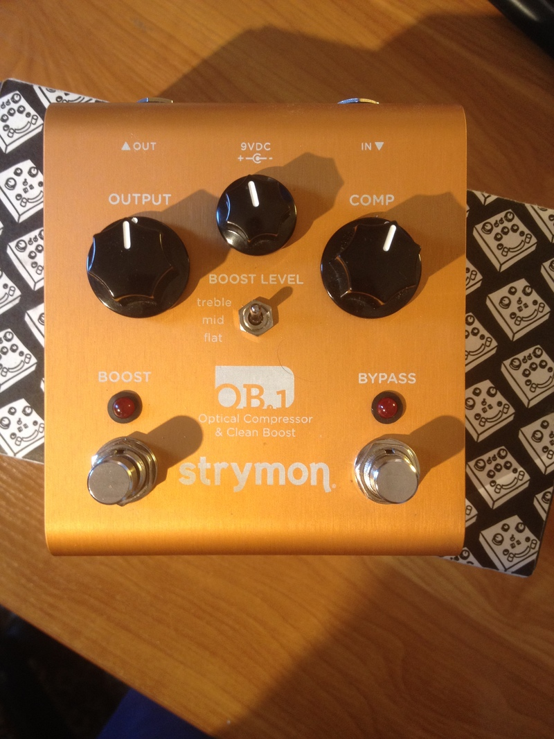 Strymon OB.1 Optical Compressor &amp Clean Boost Compressor