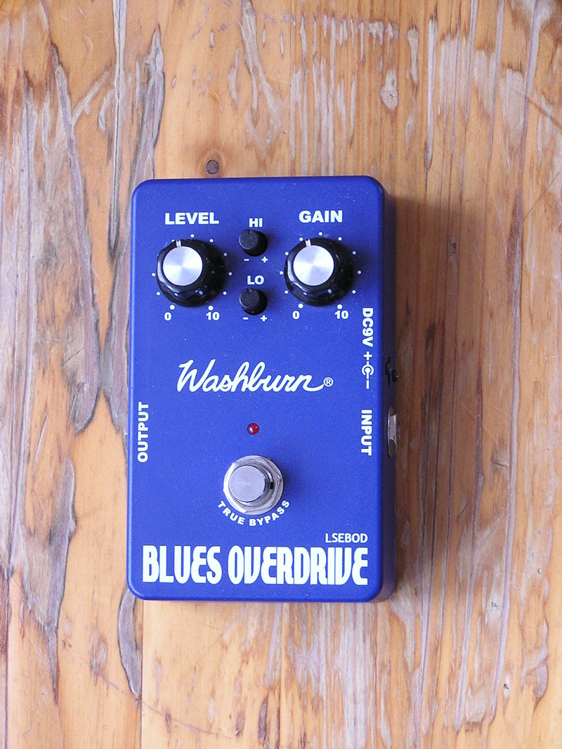 Washburn Blues Overdrive Pedál