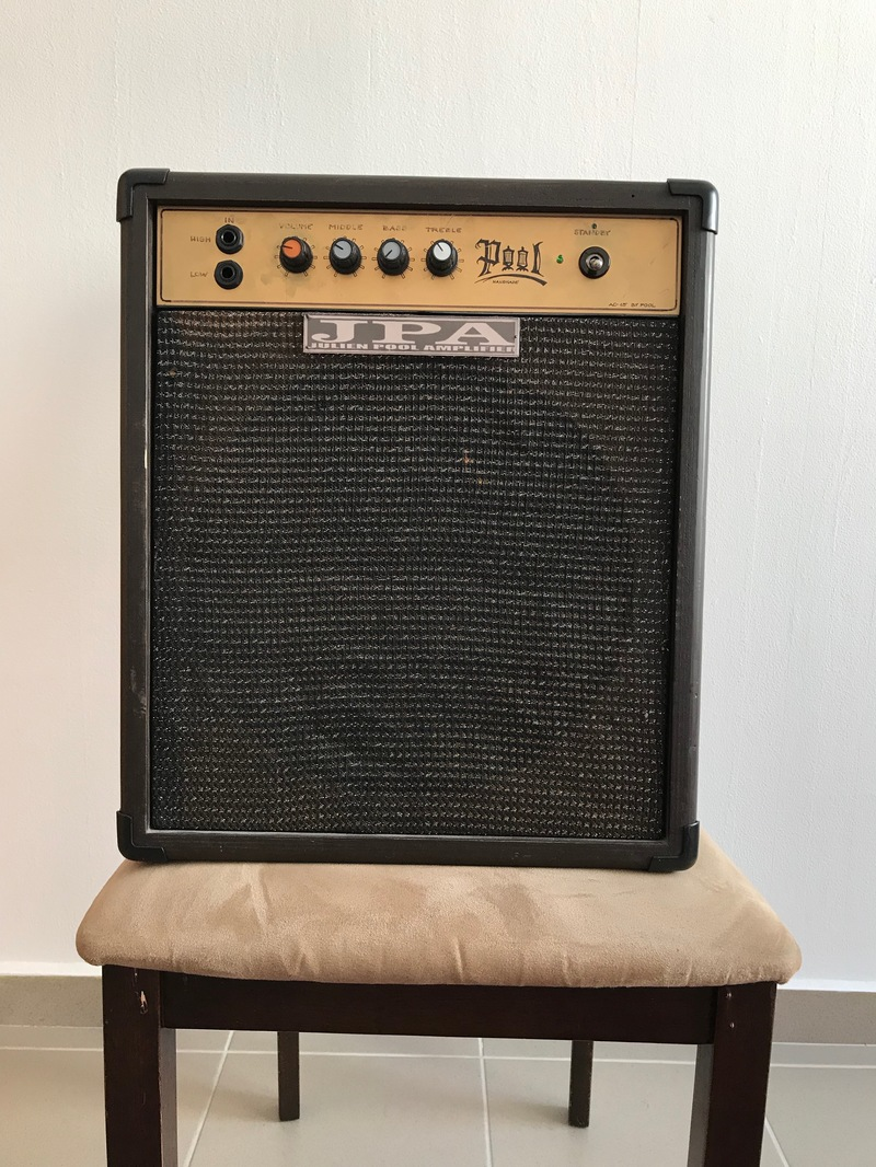 - AC15  by Julien Pool Guitar combo amp