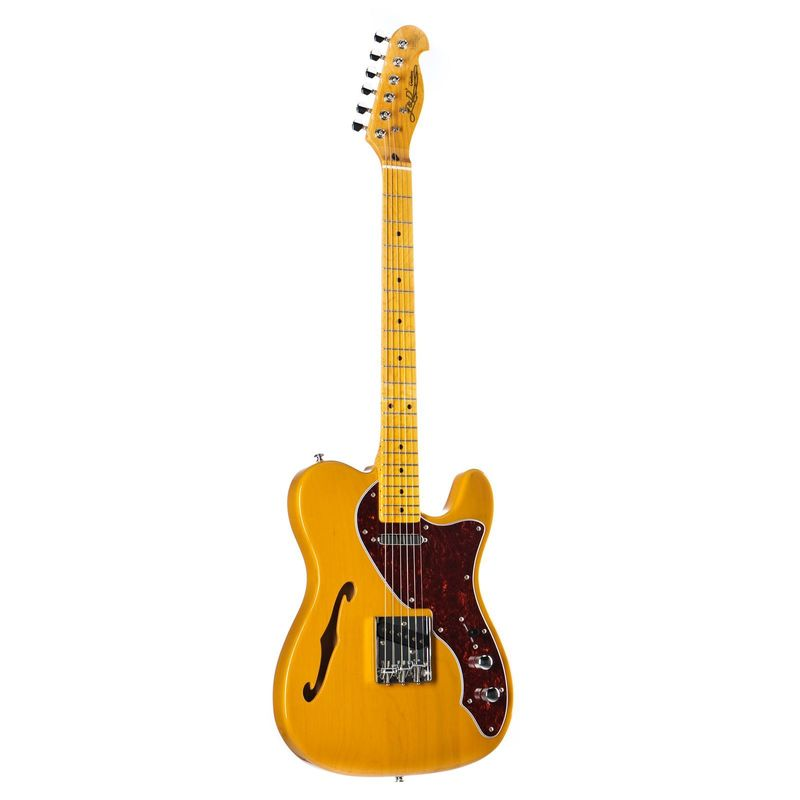 Jack and Danny Brothers TL Thinline BSB Butterscotch Blonde Electric guitar