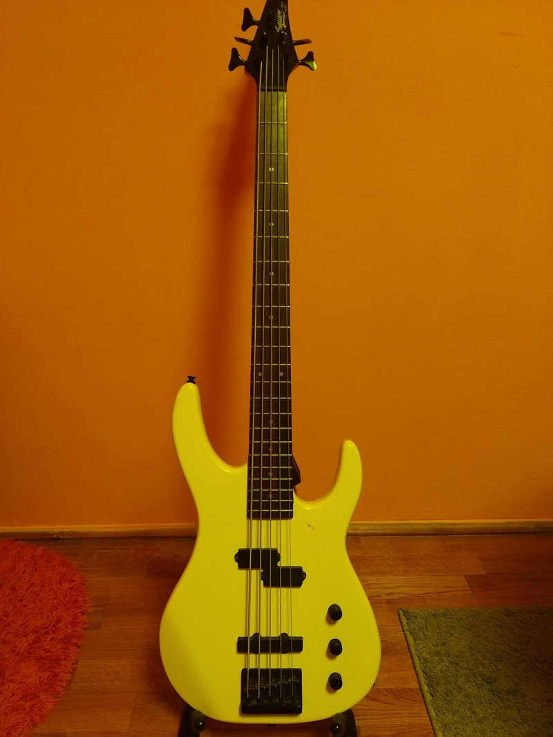 Squier Squier HM series 5 string Bass guitar