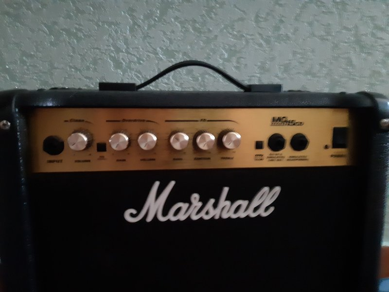 Marshall MG15 CD Gitárkombó