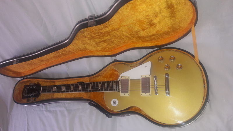 Ibanez Lawsuit les paul goldtop 1970 Elektromos gitár