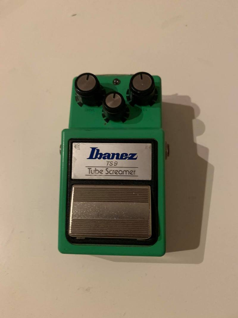 Ibanez TS 9 Tube Screamer Pedál