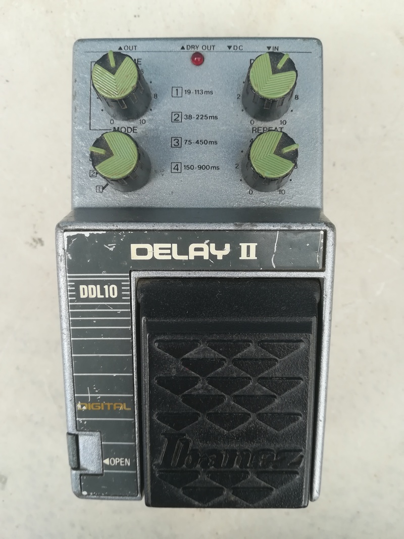 Ibanez DDL10 Digital Delay Pedál