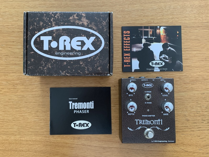 T-Rex Tremonti Phase Shifter Effect pedal