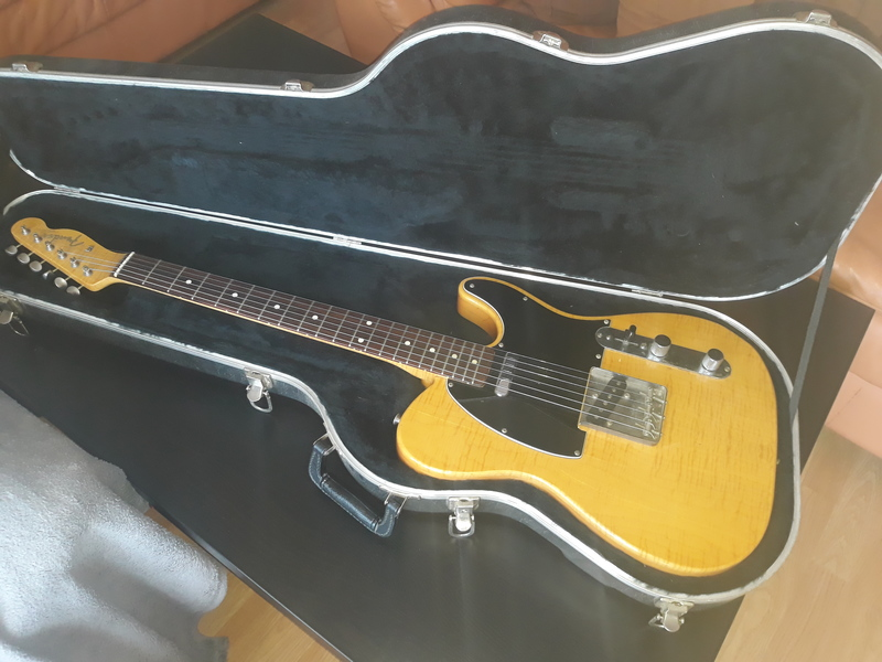Fender Telecaster Made in Japan, Fujigen, 1994 Elektromos gitár