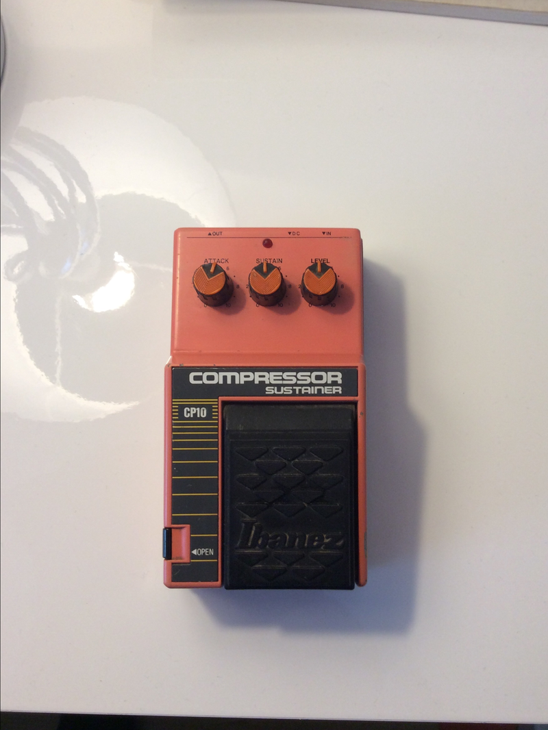 Ibanez CP10 Compressor sustainer Pedál