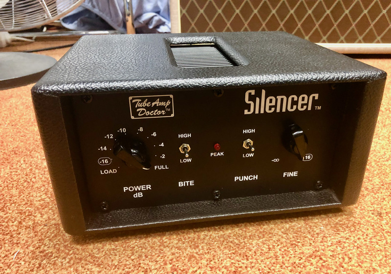 TAD Tube Amp Doctor Silencer 16 Ohms Parts