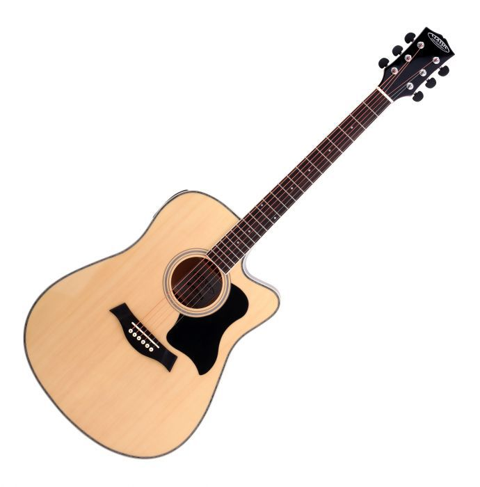 Classic Cantabile WS-20 BK Electro-acoustic guitar