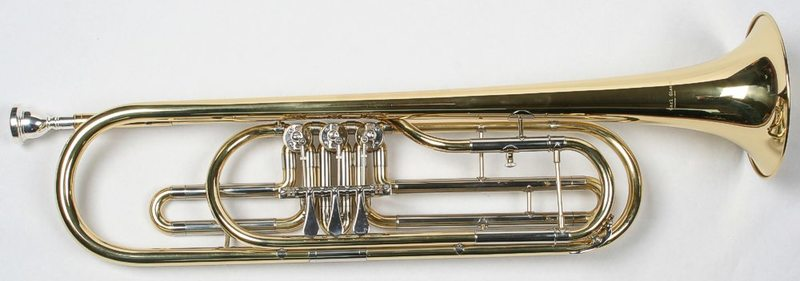 Karl Glaser 1478 Bass Trombita
