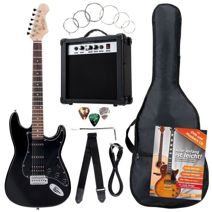 Rocktile Bangers Pack ST II Electric guitar set
