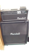 Randall RX120D + RA412XJ Guitar amplifier
