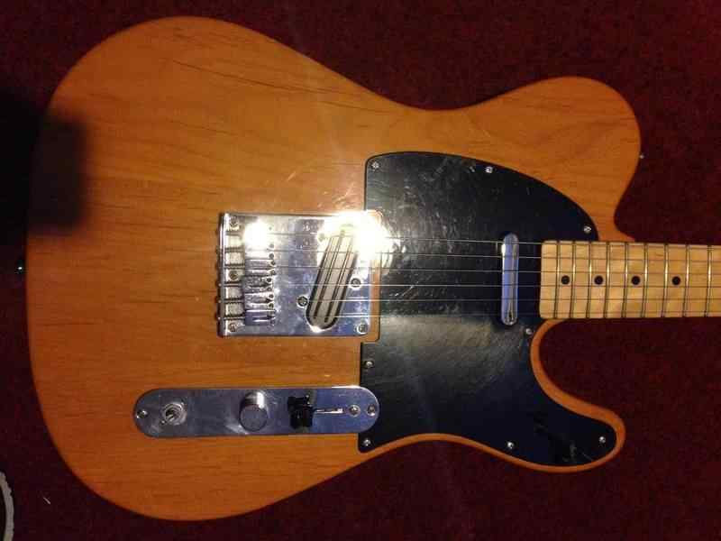 Squier Affinity Telecaster MN BTB Electric guitar