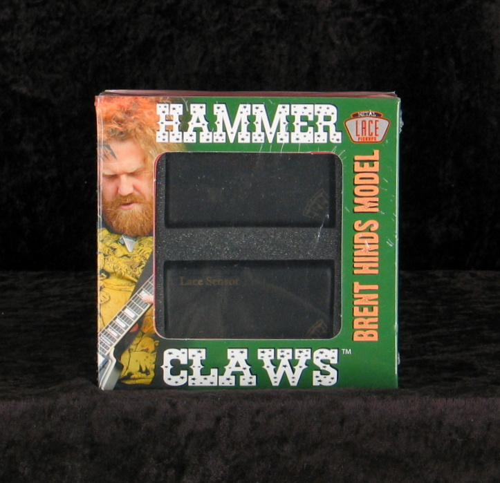 Lace Hammer Claws fekete Pickup set
