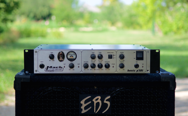 Markbass P501 Bass guitar amplifier