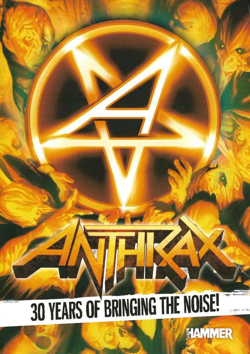 - Anthrax biography magazine Metal Hammer UK special Other