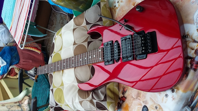 Ibanez RG-470 Made in Korea 1994 Elektromos gitár