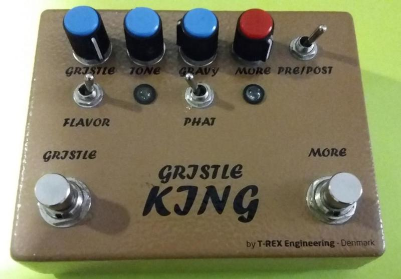 T-Rex Gristle King Overdrive Effect pedal
