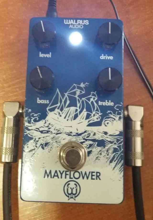 Walrus Mayflower Overdrive Effect pedal