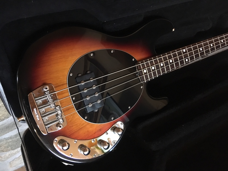 Music Man Stingray Bass guitar