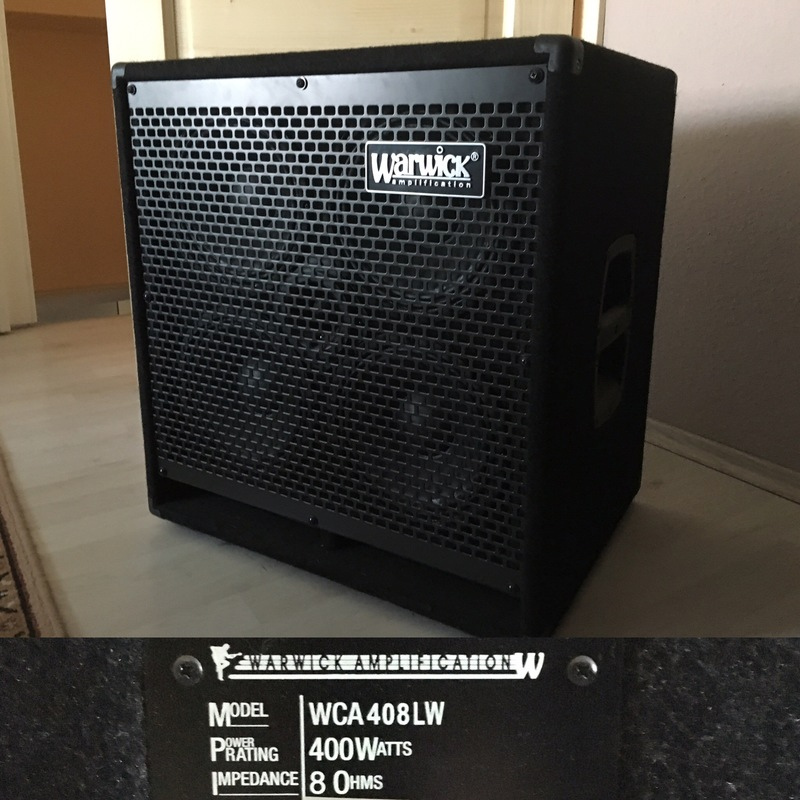 Warwick WCA408LW Bass box