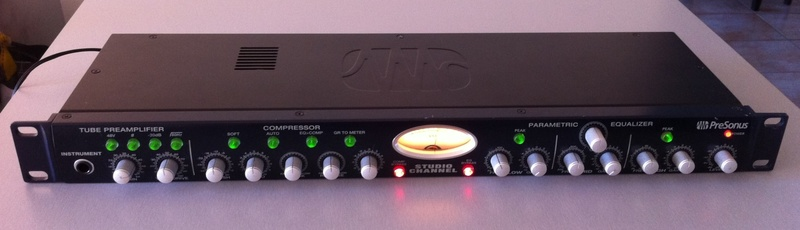 Presonus Studio Channel Tube preamp