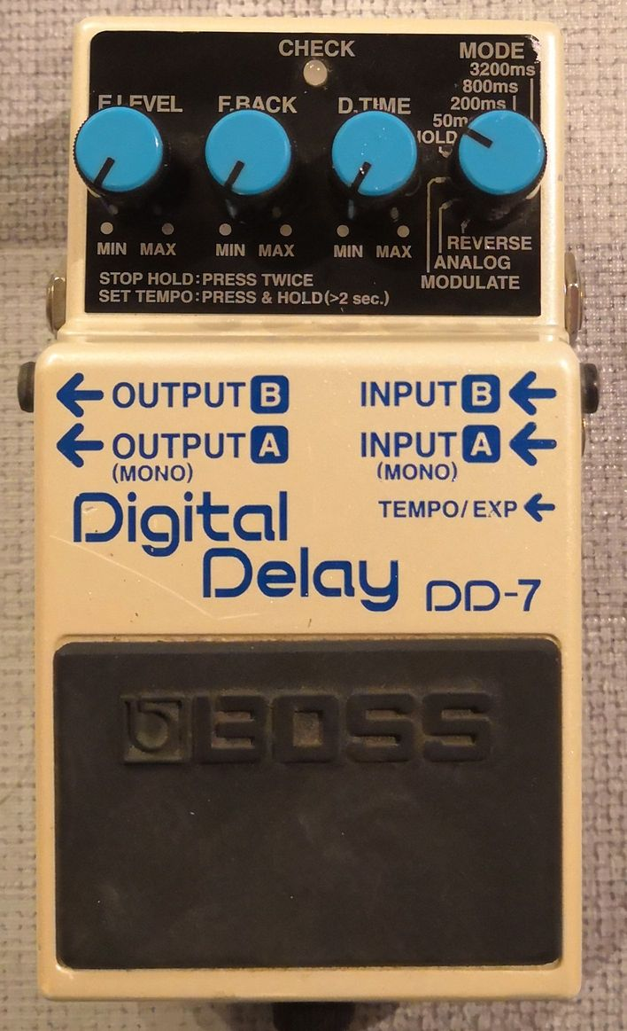 BOSS DD-7 Delay