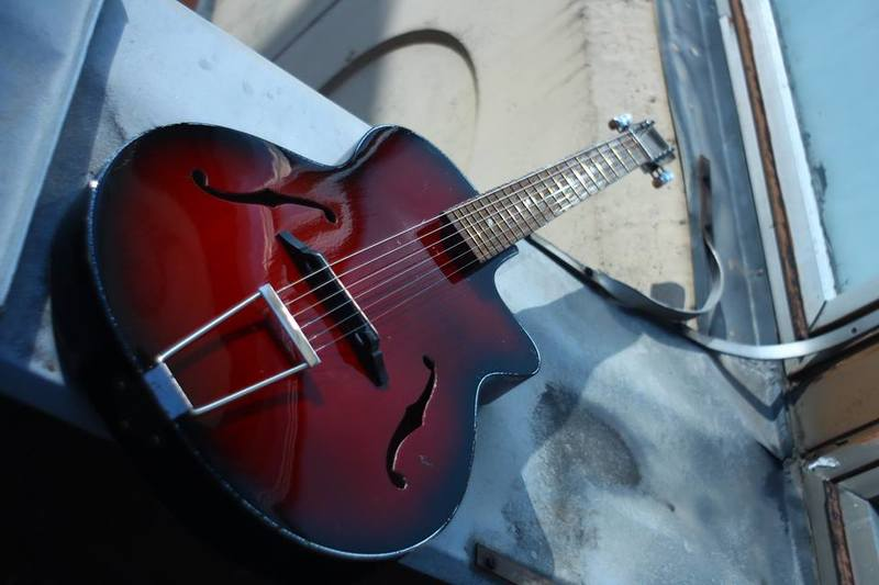 Egmond Brothers Hollow Body Acoustic guitar