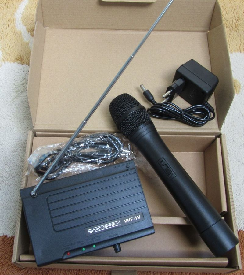 McGrey VHF-1V Wireless microphone