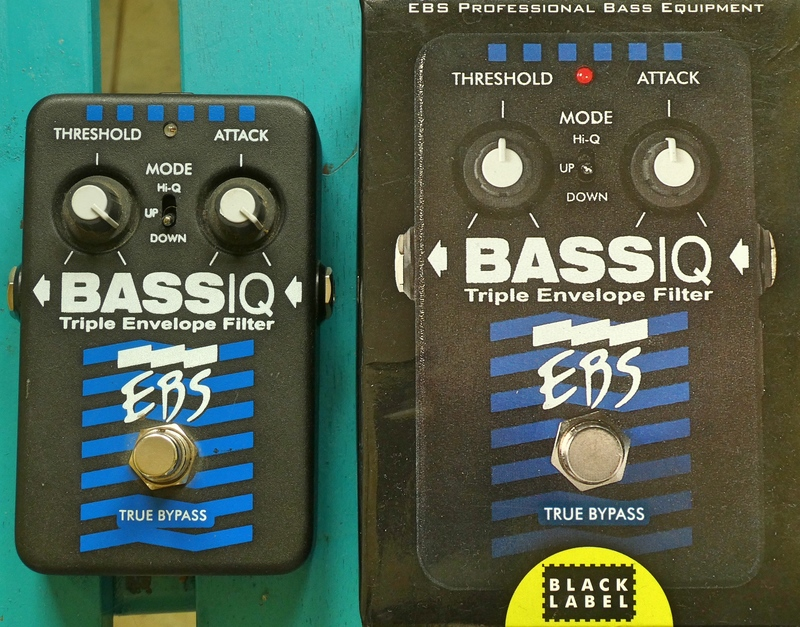 EBS Bass IQ Bass envelope filter