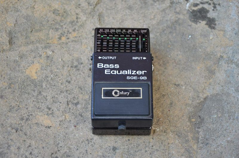 Century Bass Equalizer SGE-9B Bass pedal