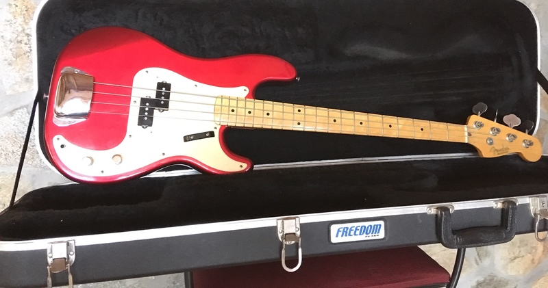 Fender Japan 57 reissue Precision Bass Basszusgitár