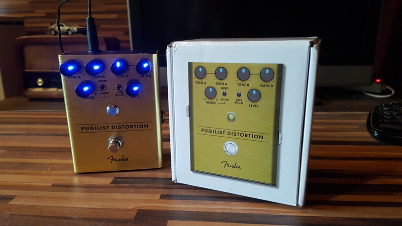Fender Pugilist Distortion Torzító