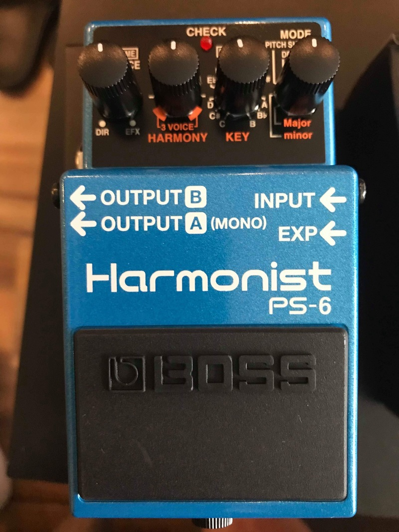 BOSS PS-6 Pitch Shifter Effect pedal