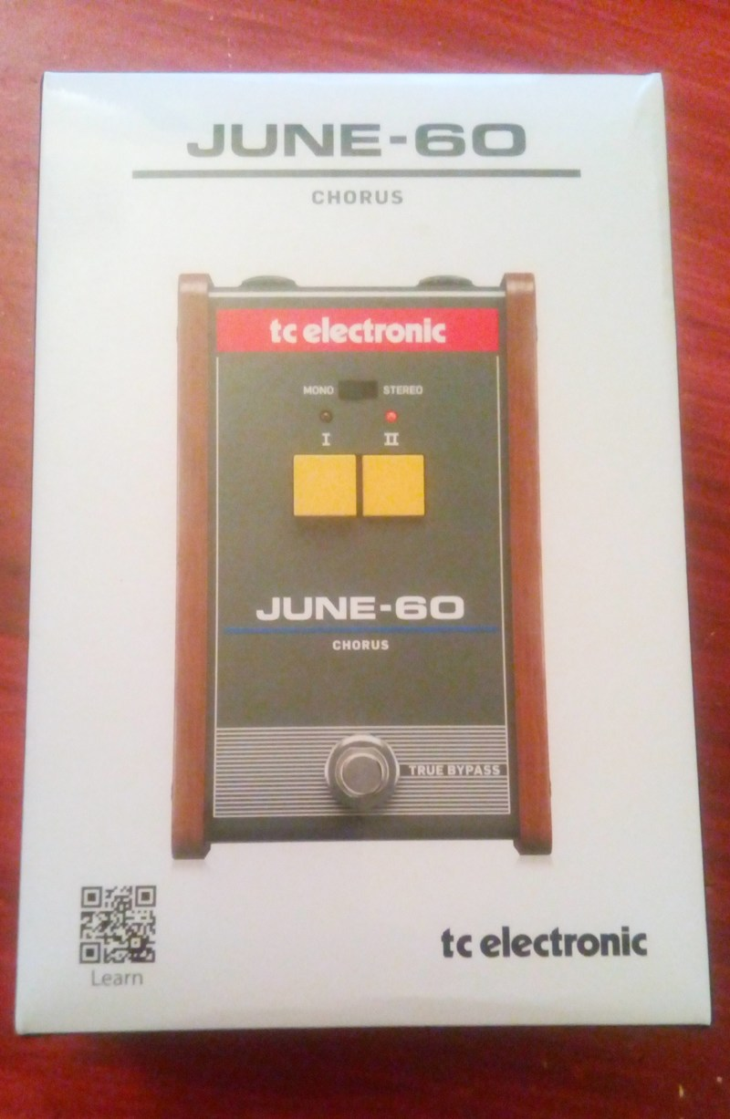 TC Electronic JUNE 60 Pedál