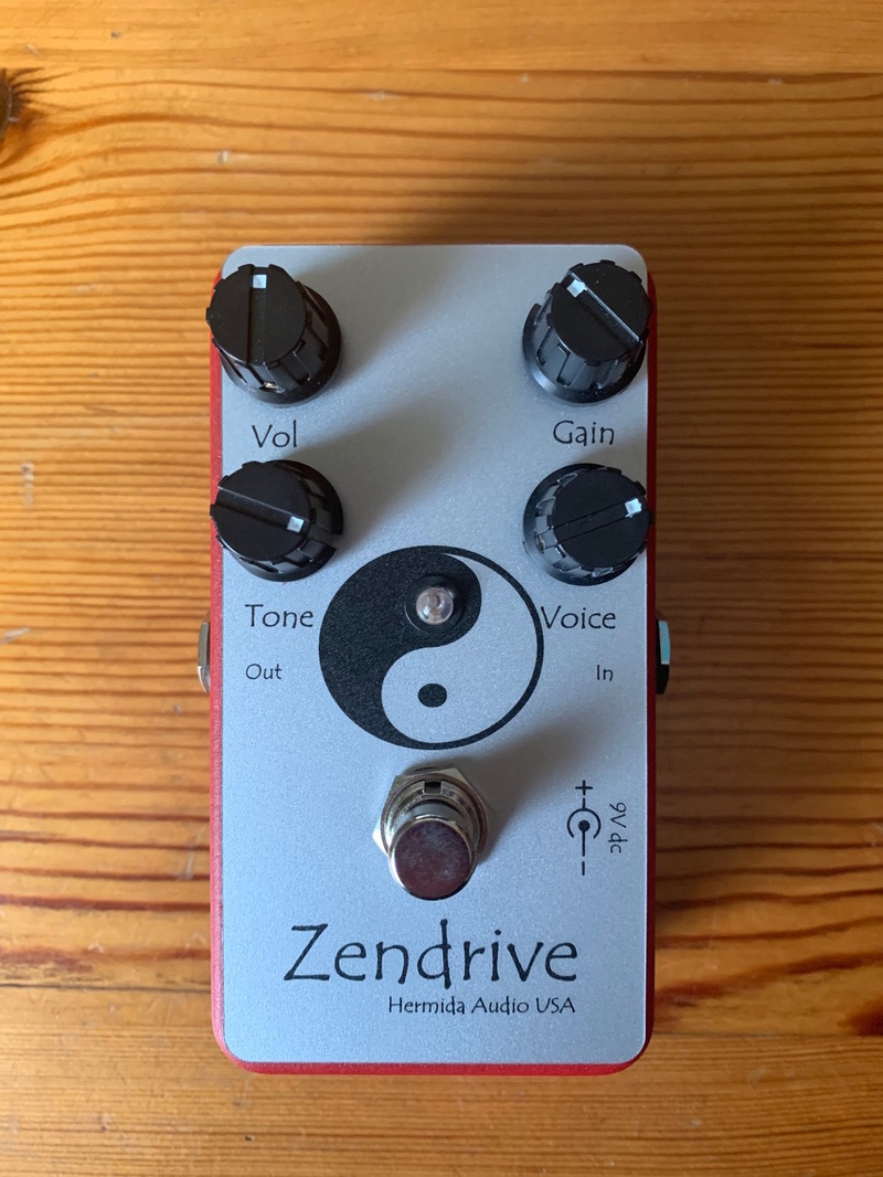 Lovepedal Red Zendrive Overdrive