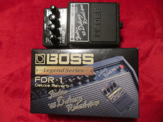 BOSS FDR-1 Deluxe Reverb Amp Distrotion