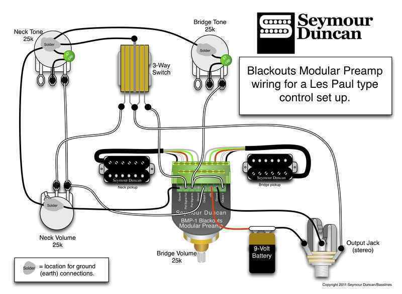blackout pre amp wiring wiring diagrams structure