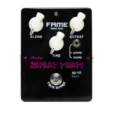 FAME Sweet Tone Delay AD-10 BL Repeat That Delay