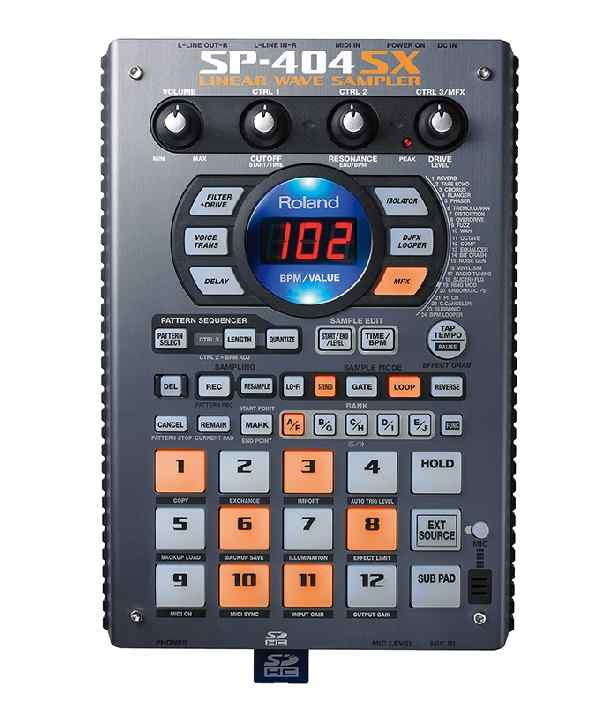 Roland SP-404SX Sampler Grovebox