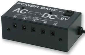 - Power bank 9V ACDC Adapter
