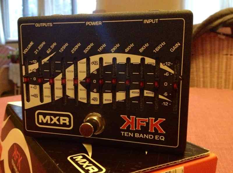 MXR MXR Kerry King KFK 10-Band EQ Equalizer